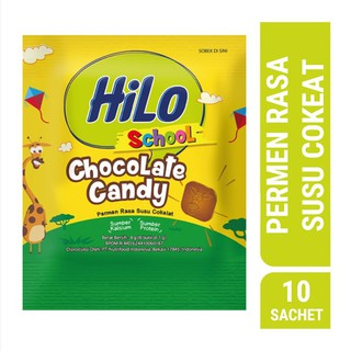 Hilo School Chocolate Candy 10's