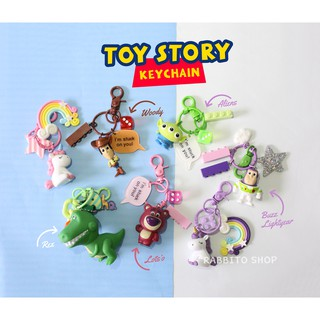 TOY STORY & MONSTER UNIVERSITY FIGURE KEYRING / Keychain Gantungan Kunci Toy Story Mainan Anak Lucu