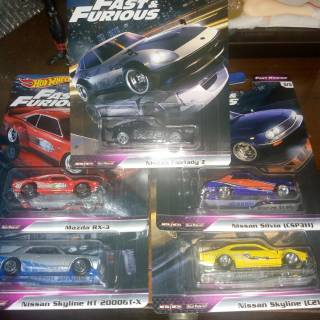 Hot Wheels Fast and Furious Fast Rewind