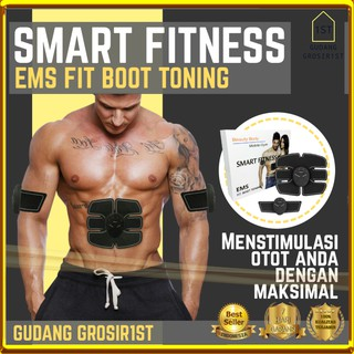 COD BAKAR LEMAK PERUT TUBUH IDEAL TERLARIS Sixpack Sixpad Bodyfit Training Gear EMS Abs Stimulator