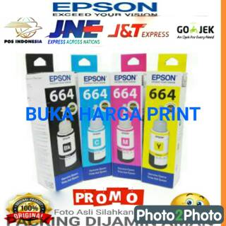 TINTA EPSON 664 FULL SET ORIGINAL