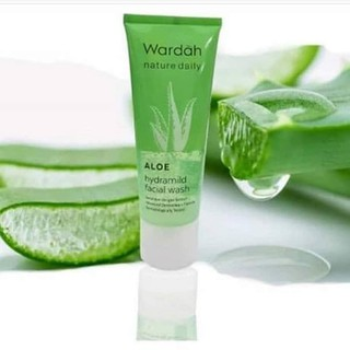 Wardah Nature Daily Aloe Hydramild Facial wash 60ml