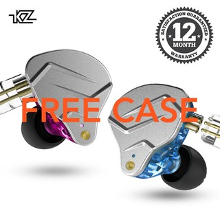 [Garansi 1 Tahun] Knowledge Zenith KZ ZSN PRO BA+DD Hybrid technology HIFI Metal Body