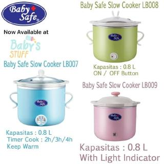 Baby Safe Slow Cooker LB007 / LB008 / LB009 Baby Food Maker
