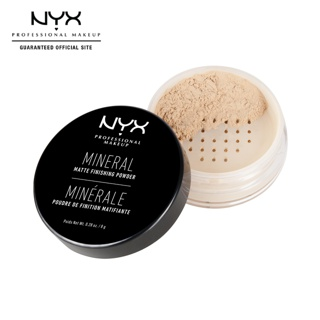 NYX Professional MakeUp Mineral Finishing Powder Foundation Make Up - Light