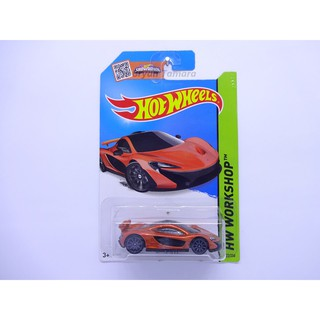 Hot Wheels mclaren p1 merah