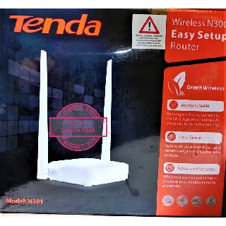 TENDA N301 Router Wireless 300Mbps Easy Setup Router