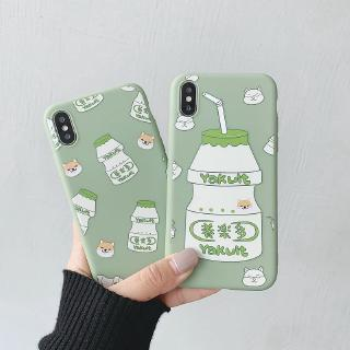 OPPO A3s A5s A7 A37 A37F A39 A57 A83 F3 F1 Plus F5 Youth F11 F1s Reno Yogurt Yakult Case Cover