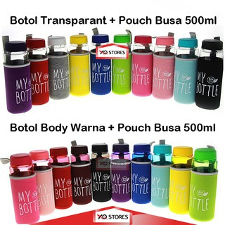 My Bottle 2V / My Bottle 500 ml / Botol Air / Infused Water / Mybottle