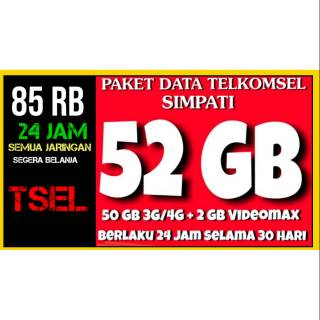 Paket internet Telkomsel 50 gb