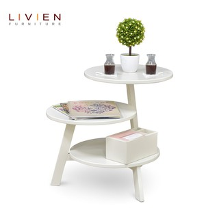 Meja Dokeby White - Meja Tamu / Coffee Table / LIVIEN FURNITURE