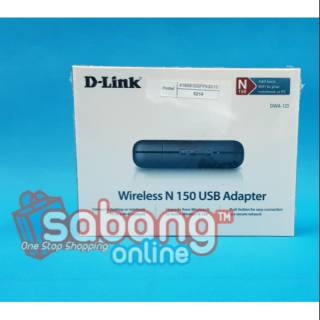 D-LINK USB WIRELESS ADAPTER DWA 123 150 MBPS