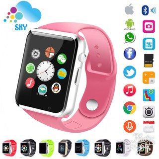 ❤【Ada stok】ToHayie SKY iwatch U10 / A1 Import SmartWatch Touch Screen + GSM