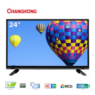 Changhong 24 inch LED TV HD TV  HDMI-USB Movie-L24G3-Garansi Resmi 3 Tahun.