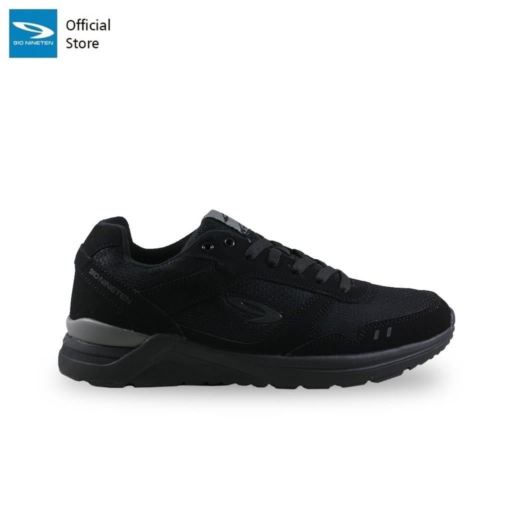 910 Nineten CHIRU 1.5 Sepatu Running for Men Hitam/Hitam