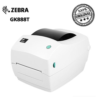 PRINTER BARCODE / LABEL PRINTER ZEBRA GK888T/ GK 888 USB-SERIAL
