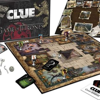 &AKD986** Clue Board Game Game Of Thrones Edition &AKD986**