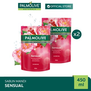 Palmolive Aroma Theraphy Sensual Shower Gel/Sabun Mandi 450 ml x2
