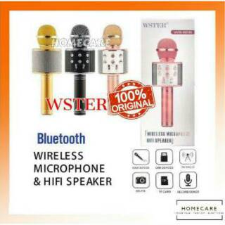 Mic Microphone Bluetooth WSTER WS858 Best Seller