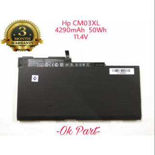 Baterai Battery Laptop Original HP EliteBook 840 G1 CM03XL CM03050XL HSTNN-IB4R HSTNN-DB4Q