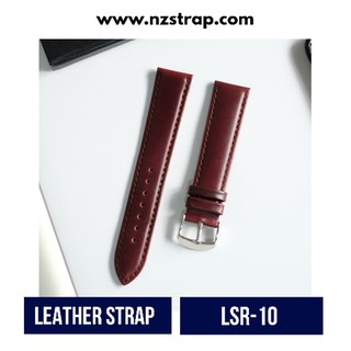 HOT - [LSR-10] TALI JAM TANGAN KULIT , LEATHER WATCH STRAP - 20MM 22MM