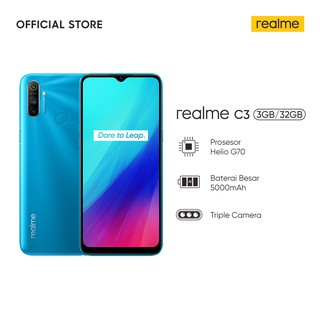 realme C3 3/32GB [Gaming Sensor G70, 5000mAH Massive Battery, 16 MP Camera, Corning Gorilla Glass 3]
