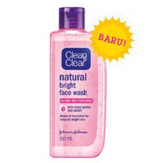 CLEAN AND CLEAR NATURAL BRIGHT FACE WASH