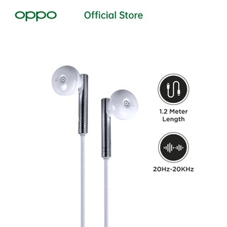 OASE Earphone In-Ear Headfree W7 - Special Online Edition (Free Garansi) [OPPO Official Accessories]