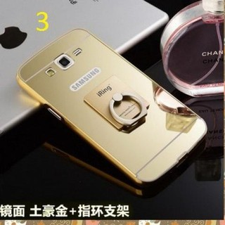 Jaminan!! Case Hard Bumper Mirror Ring Luxury Oppo Neo 7 / A33 .. Harga Terbaik!!