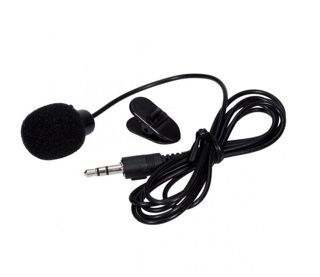 3,5mm microphone with clip on for smartphone / mic jepit for android smule table pc