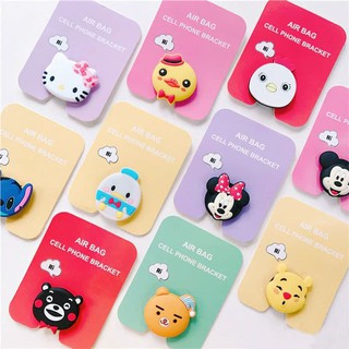 POP SOCKET 3D KARAKTER KARTUN POP RING STAND HOLDER HP HELLO KITTY DORAEMON CONY [PROMO HARI INI]
