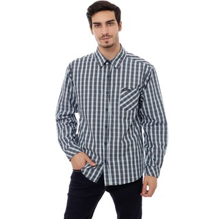 Cottonology San Salvador Long Blue Shirt