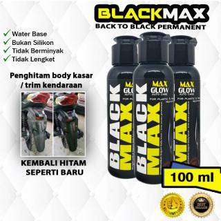 BEST SELLER penghitam body plastik/kasar dashboard motor PERMANENT 100ml PALING MURAH