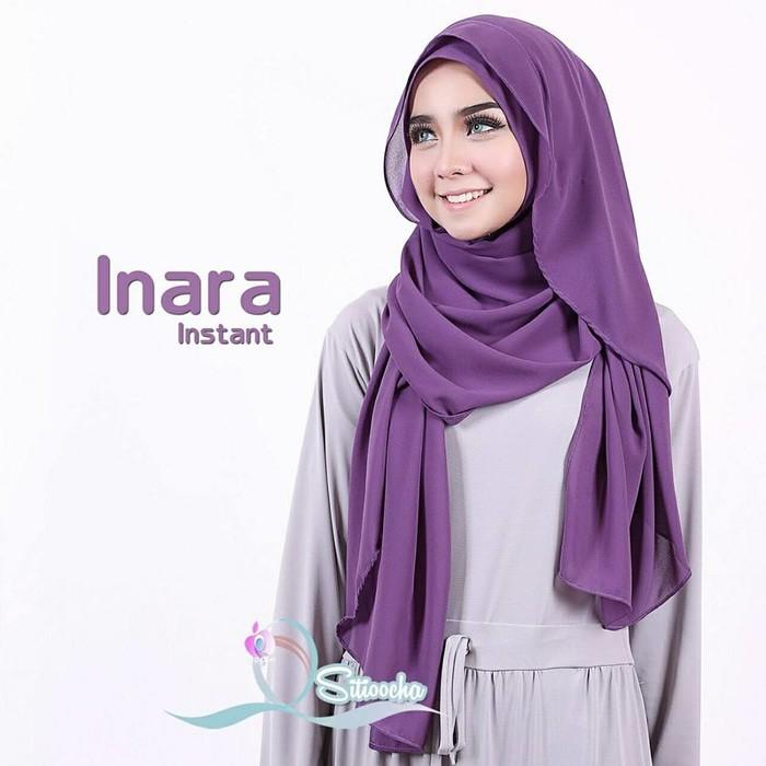 Inara Instant By Apple Sitiocha / Hijab Instant Ceruti Zara Polos Promo