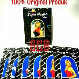 Tissue Super Magic Man - Black