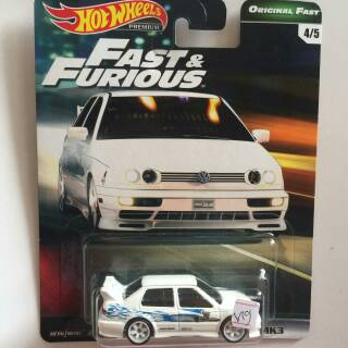 Hot Wheels Fast and Furious Volkswagen Jetta