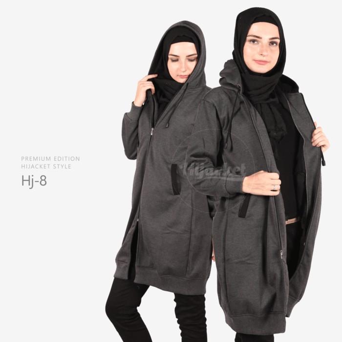 Hijab Jaket / Hijacket Original / Jaket Premium Misty Hitam (Hj-8)