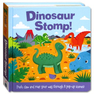 (WP) Dinosaur Stomp! (Push claw and roar your way through 8 pop-up scenes!)