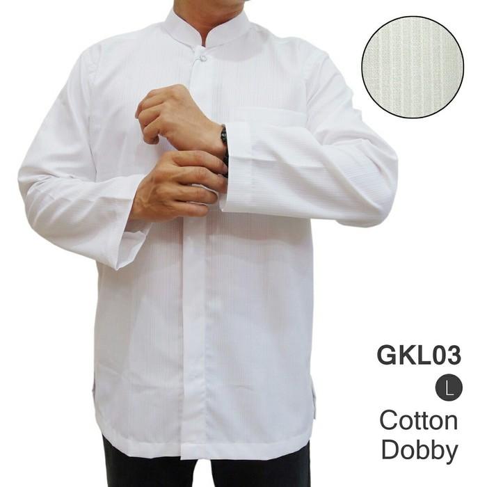 Baju Muslim Kemeja Koko Lengan Panjang Gkl03