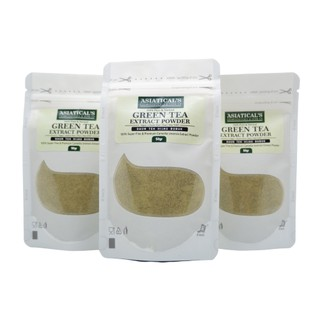 Green tea powder - daun teh hijau bubuk Asiatical,s 50gr