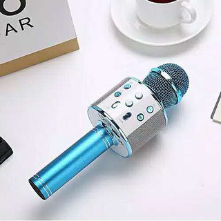 Mic Bluetooth karaoke WS858 Microphone Karaoke Speaker Bluetooth Mikrofon Wireless Portable