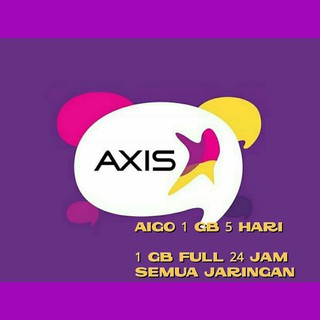 Fsk AXIS AIGO 1GB - 5 HARI