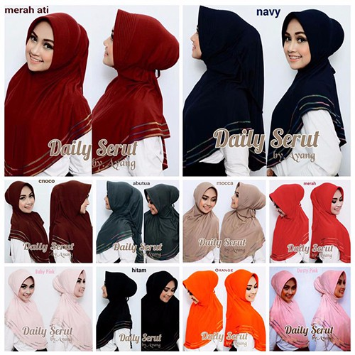 spesial Jilbab Daily Overdeck Hijab