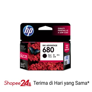 HP Ink 680 Black Cartridge