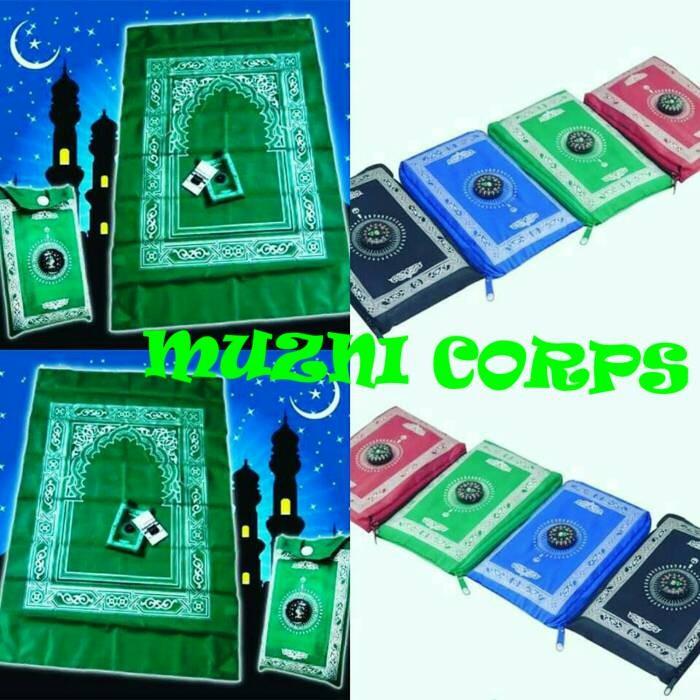 SEJADAH KOMPAS ( POCKET PRAYING MAT WITH COMPASS )