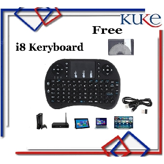Keyboard Air Mouse i8 Mini Keypad Wireless Touchpad