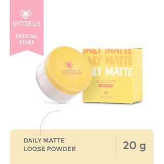 Emina Daily Matte Loose Powder 20 g
