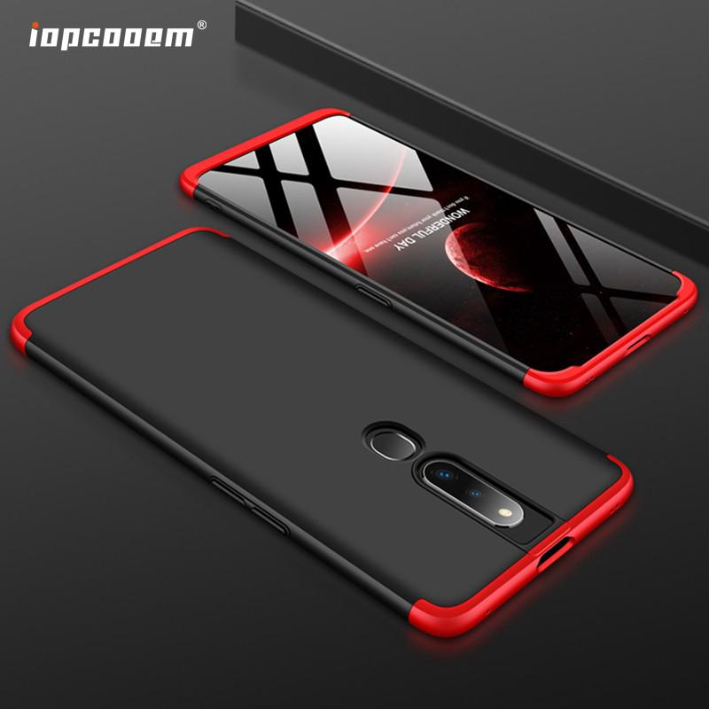 OPPO F11 Pro Case OPPO F11 A7 A5S A5 A3S A9 A5 2020 Casing 360 Plastic Hard Anti-Shock PC Back Cover