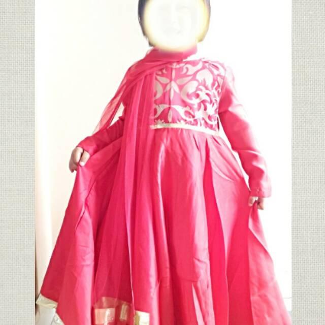 DRESS MUSLIM ANAK MODEL INDIA