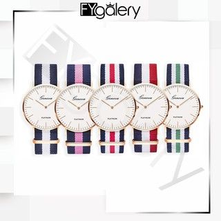FYG  J-102 JAM TANGAN Fashion Kanvas